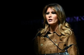 Melania Trump wades into impeachment fight to defend teen son