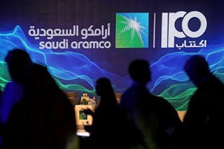 Saudi Aramco eclipses Alibaba for world's largest IPO