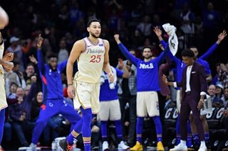 NBA: Simmons hits career-high 34 to lead Sixers past Cavs