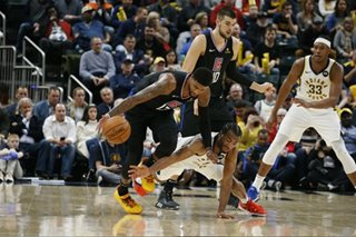 NBA: George pours in 36 points as Clippers top Pacers