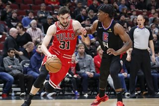 NBA: Bulls hang on, end Clippers' 4-game winning streak