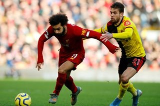 Football: Salah stretches Liverpool lead to 10 as Leicester stumble