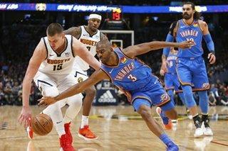 NBA: Jokic's triple-double leads Nuggets past Thunder