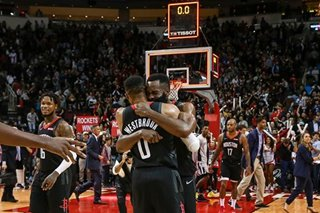 NBA: Westbrook, Harden lead Houston's rally vs. Spurs