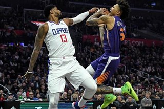NBA: George, Leonard send Clippers past Suns