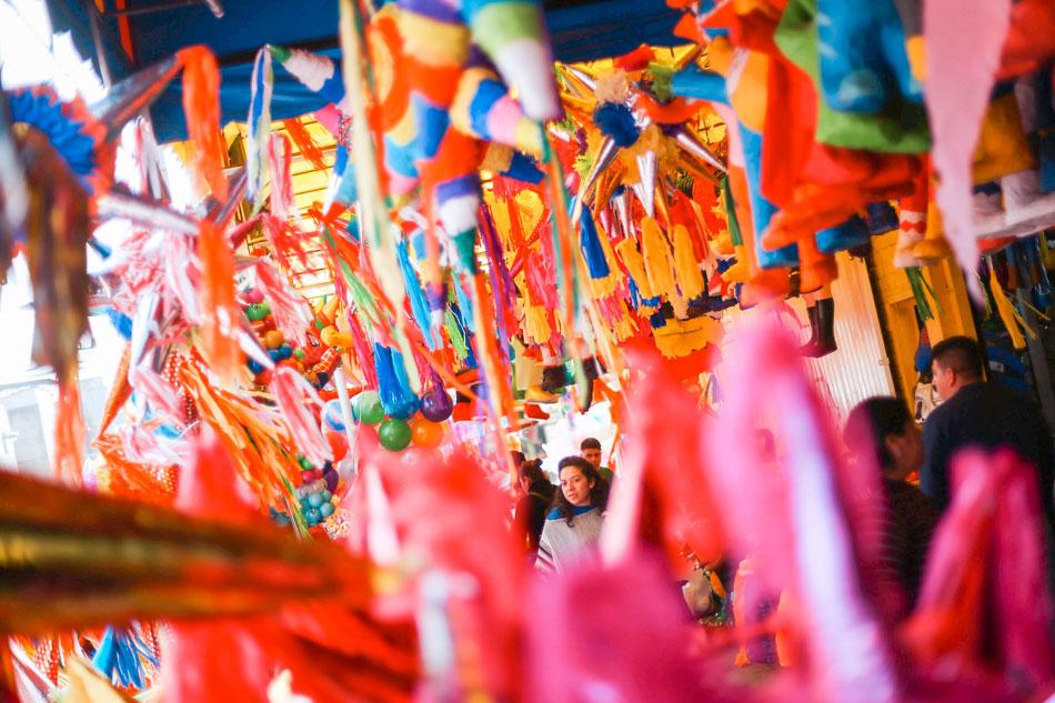 Piñatas, not parols