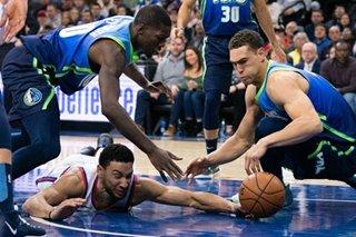 NBA: Hardaway, Mavs send Sixers to third straight loss