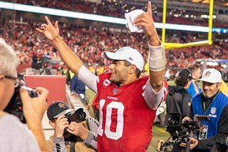 NFL: Garoppolo, 49ers eliminate Rams with late drive