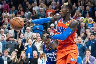 NBA: Dennis Schroder, Thunder storm back to shock Clippers
