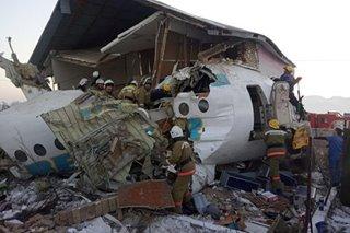 Plane crashes after takeoff in Kazakhstan; 12 dead, dozens injured