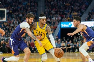 NBA: Warriors rally to defeat Suns for fourth straight win