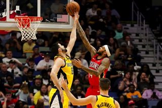 NBA: Ingram, Pelicans stay hot in rout of Pacers