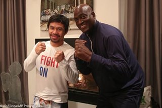 LOOK: Former Showtime Laker visits Pacquiao