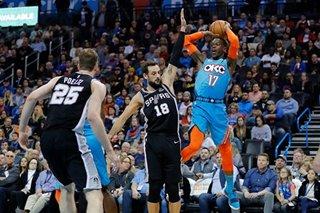 Schroder's big second half leads Thunder past Spurs