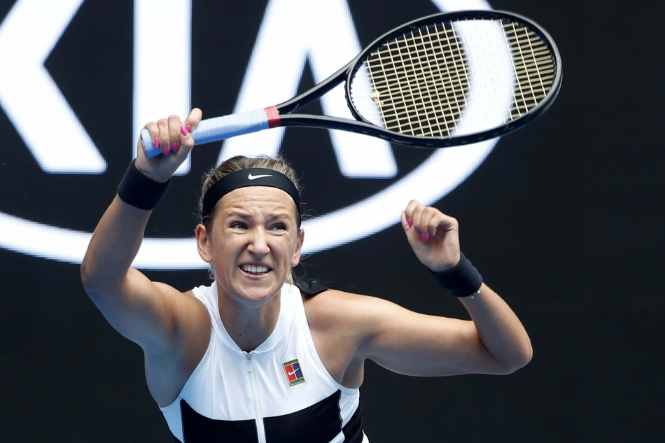 Teary Victoria Azarenka admits to struggling after loss in Australia