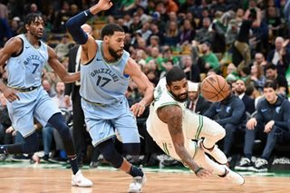 NBA: Irving's 38 points propel Celtics past Grizzlies