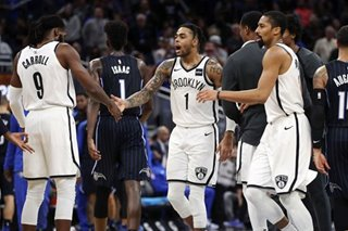 NBA: Russell soars as Nets rally from 21 down to beat Magic
