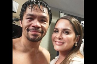 Eye injury 'nothing to worry about,' Pacquiao assures