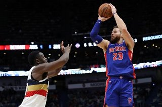 NBA: Griffin, Pistons take down Davis-less Pelicans
