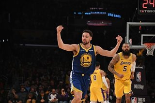 NBA: Same old story as Warriors start to 'click'
