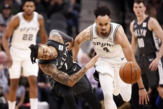 NBA: White, Aldridge lead Spurs past Nets
