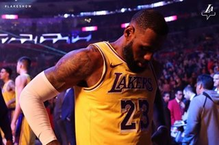 NBA: LeBron returns after missing 17 games