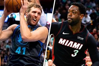 NBA: Nowitzki, Wade added to rosters for All-Star Game