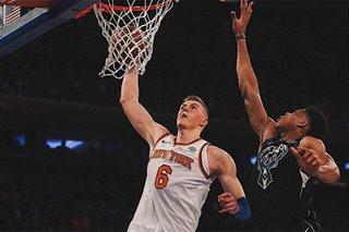 Porzingis tells NBA Knicks fans to 'Stay Woke!'