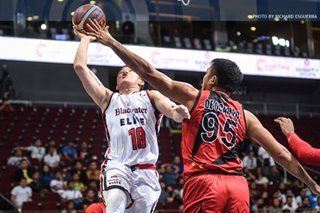 Desiderio got schooled by 'Coach Alex' in first PBA encounter