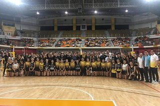 Then vs now: Tigresses prevail over UST alumni in exhibition game