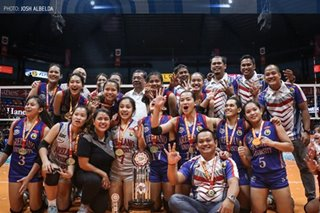 NCAA: Arellano coach dedicates latest title to mentor, school