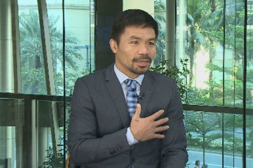'No gloves, just a basketball court': Pacquiao said he discouraged son from boxing