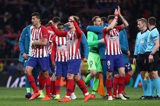 Football: Formidable Atletico stun Ronaldo and Juventus