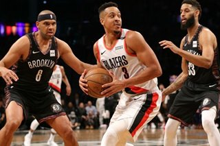 NBA: Blazers blitz Nets to start 7-game trip