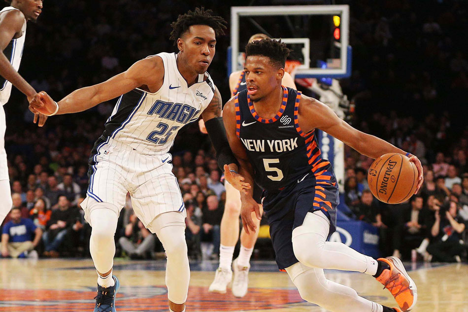 Nba Knicks Hold Off Magic For Another Home Win Abs Cbn News