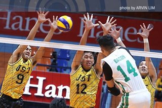 UAAP: FEU, UST book quick wins in men's volleyball