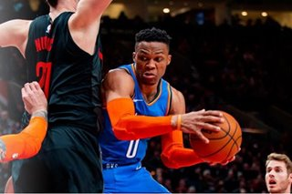 Thunder outmuscle Blazers in OT