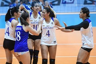 UAAP: Ateneo Lady Eagles laud young NU Lady Bulldogs for 'good fight'
