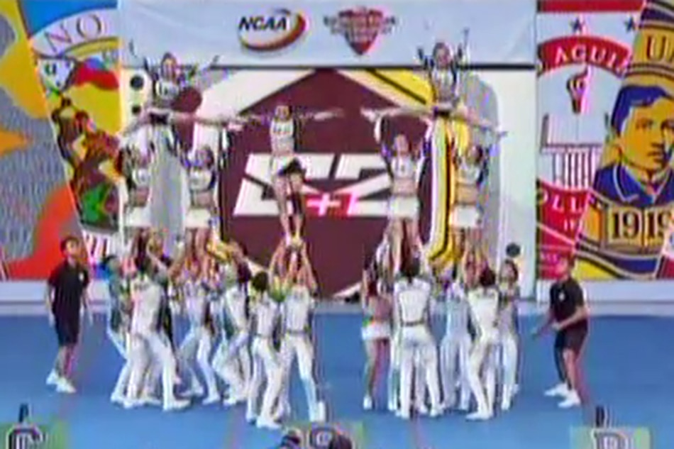 WATCH: CSB Pep Squad pumps up crowd with cheerleading