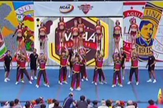 WATCH: Mapua pulls off masterly routine in NCAA Cheerleading tilt