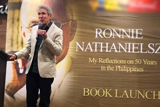 Ronnie Nathanielsz's book 'Reflections' launched