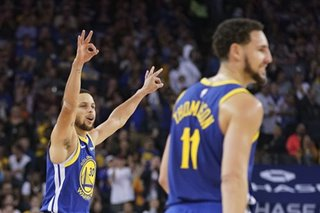 Curry: 'No panic' despite Warriors' loss, sending series back to LA