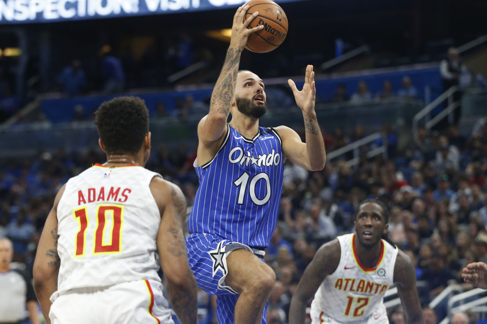 e2ebdc2719c NBA  Magic offense on target in rout of Hawks