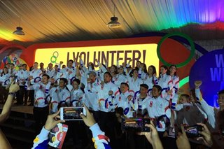 Organizers look to tap 12,000 volunteers for SEA Games