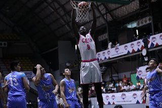 PBA D-League: CEU remains unbeaten after downing Marinero