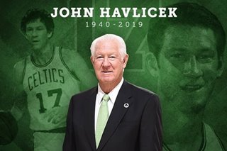 NBA: Celtics legend Havlicek dies at 79