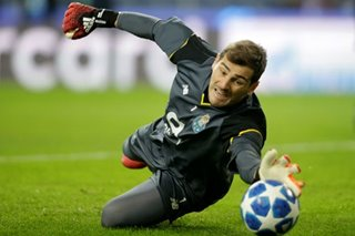 Football: Iker Casillas stable after heart attack, club says