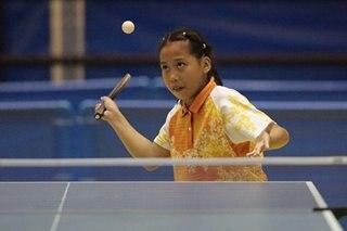 Next Yan Lariba? Batang kampeon sa Palaro table tennis, minsang nakalaro ang idolo