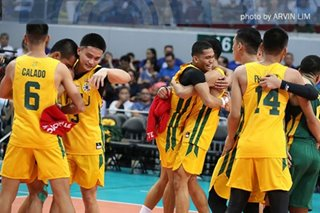 UAAP men's volleyball: FEU downs Ateneo to clinch finals seat