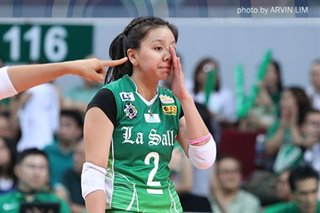 La Salle's Desiree Cheng signs off from the UAAP